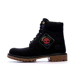 Timberland Boots Noir Homme Premium 6 in Waterproof Boot