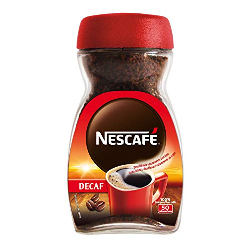 Nescafé Decaf Caffè Solubile Decaffeinato, 100g