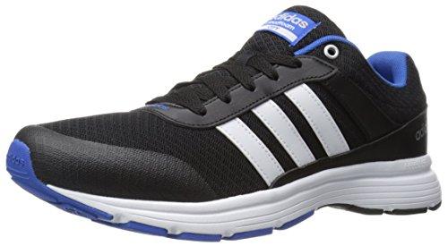 adidas Men's Cloudfoam vs City-m Running Shoe, Black/Matte Silver/Onix, 9 M US