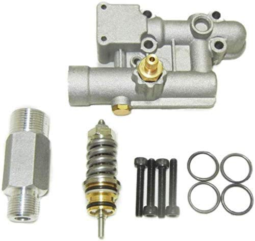 proven part Replacement Pressure Washer 4 Bolt Manifold Kit with Unloader for 16031 190627GS 190574GS 020228 EXWGV1721