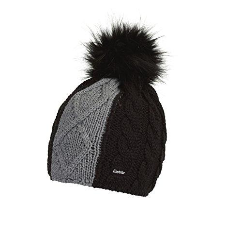 Eisbär Belicia Lux Mütze, schwarz/Graumele/Schwarz, One Size