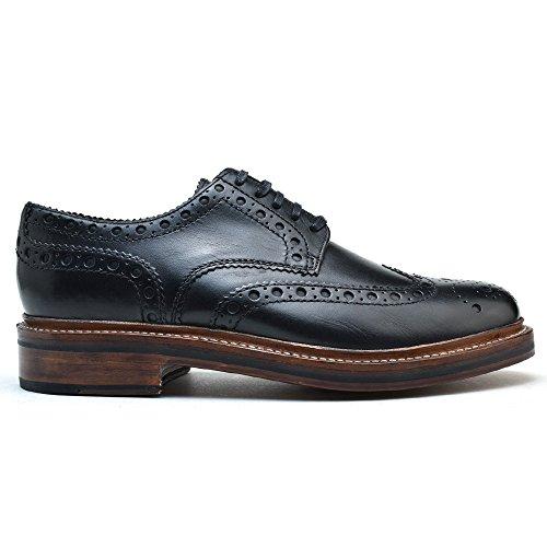 [グレンソン] ARCHIE 110004 CALF BLACK アーチー カーフ レザー ブラック ドレスシューズ ブーツ 靴 メン...