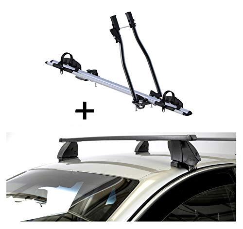 VDP Fahrradträger SAGITTAR + Dachträger K1 MEDIUM kompatibel mit Jeep Grand Cherokee (WK2) (5Türer) ab 14