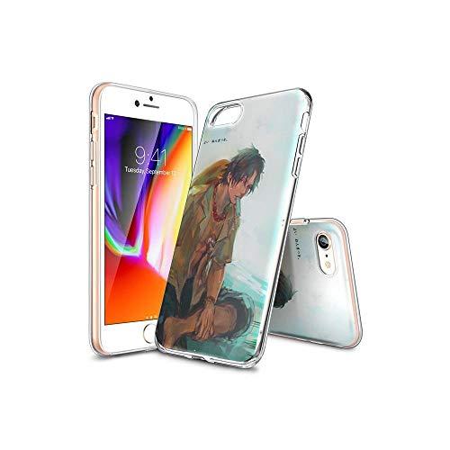 TsFKxEU Compatible con iPhone 6S Plus Funda y iPhone 6 Plus Funda diseño de Dibujos Animados, Suave de TPU Protector Delgado a Prueba de Golpes para iPhone 6S Plus/iPhone 6 Plus FKX#A010