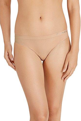 Bonds Women's Cotton Rich Comfytails Side Seamfree Gee G-String, Base Blush, 16