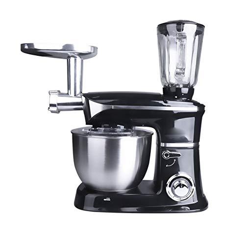 Robot De Cocina 3 En 1 Batidora Amasadora, Carne Blender Y Jugo...