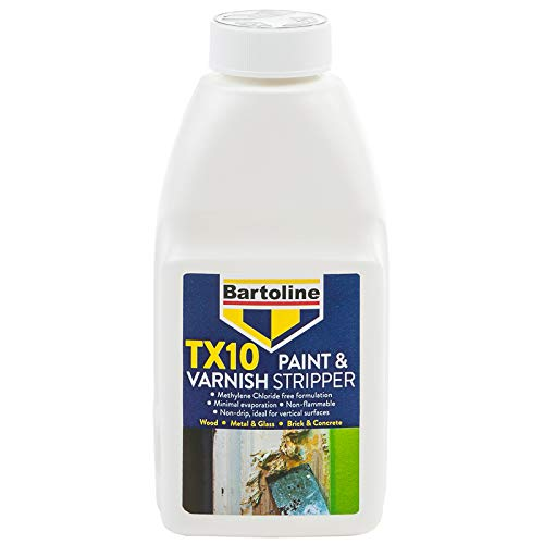 Bartoline 55878754 TX10 Paint & Varnish Stripper-500ml