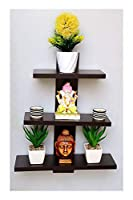 PERFECT WALL SHELVES : Beautifully designed for Indian Homes to work as perfect Wall shelfs for Living Room MULTIPURPOSE SHELF : Suitable for wall shelves, storage shelves, book shelfs, kitchen shelves and racks, bathroom shelves EASY TO ASSEMBLE : o...