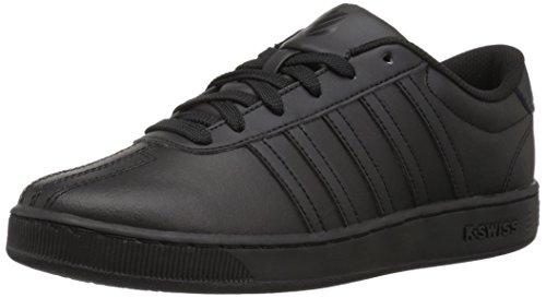 K-Swiss Unisex-Kid's Classic Pro Sneaker, Black/Black, 2.5 M US Little Kid