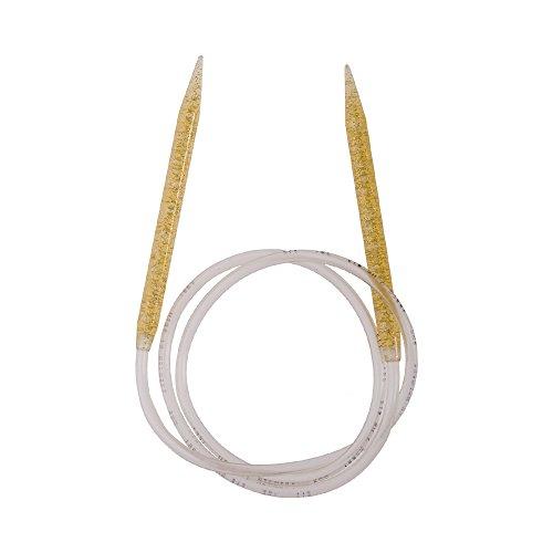 Addi aiguilles à tricoter en rond glitter 9,00 mm/100 cm