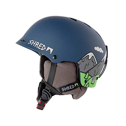 Shred Half Brain D-LUX NEEDMORESNOW Helm, Blue, XS/S(M-)