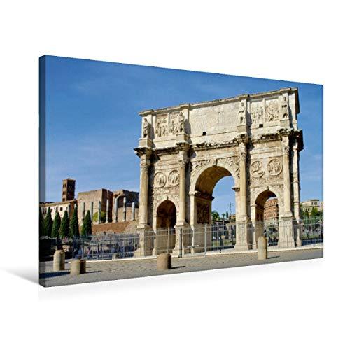 CALVENDO Premium Lienzo 75 cm x 50 cm Horizontal, Arco Constante, Imagen sobre Bastidor, Lienzo de Lienzo, impresión en Lienzo: Roma – La Ciudad eterna Orte Lugares