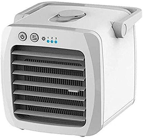 Raffrescatore Evaporativo Mini Ventola USB per Raffreddamento Di Spazio, Personale Portatile per Uso Domestico e Uffici Durevole