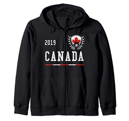 Canada Football Jersey 2019 Canadian Soccer Jersey Zip Hoodie
