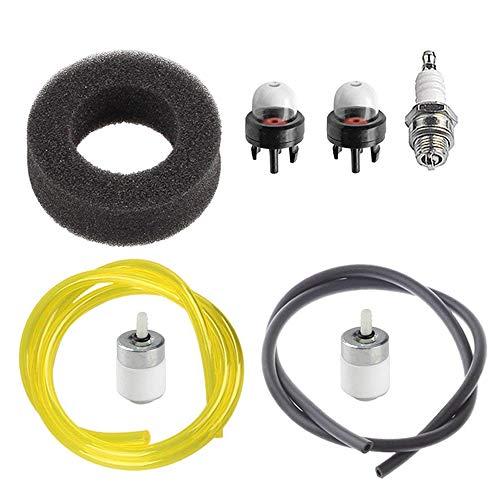 OxoxO - Kit de afinación de la bujía de filtro de aire para MTD Ryobi 704rVP 705r 720r 725r 750r 280 280r 310BVR 410r 600r 700r 704r 765r 766r 767r 775r 790r recortadora