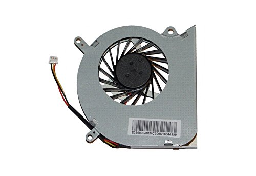 Ellenbogenorthese-LQ Ventilador de CPU Nuevo Ventilador de refrigeración de CPU para computadora portátil Reemplazo para MSI GE60 MS-16GA MS-16GC CPU-VGA E33-0800401-MC2 Accesorios.