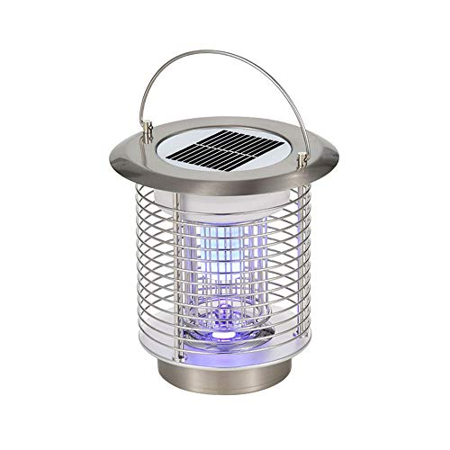 Idebris Solar LED Electric Mosquito Killer Outdoor Waterproof USB Rechargeable Mosquito Killer Household Mute Mosquito Killer