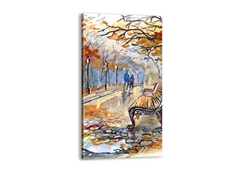 ARTTOR Cuadros Modernos Baratos - Lienzos Decorativos - Cuadros Decoracion Salon - Tríptico De Pared - Muchos Tamaños y Varios Temas Gráficos - PA55x100-3000
