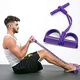 QueenHome - Cuerda elástica, extractor de pedal de ejercicios,...