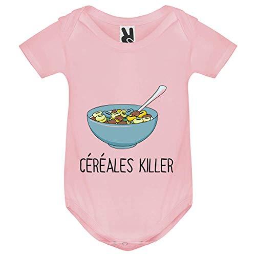 My-Kase - Body para bebé rosa 9 mes
