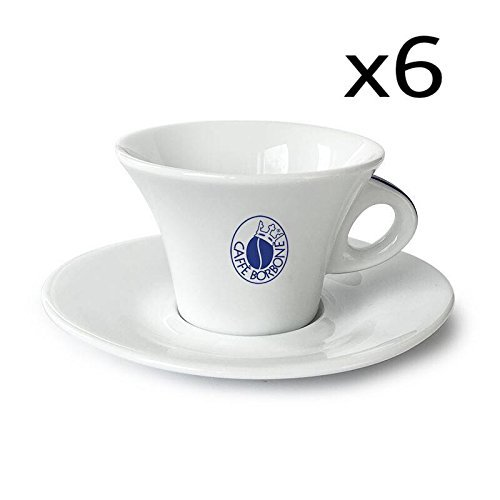 Set 6Tassen Cappuccino–Kaffee Borbone Caffe