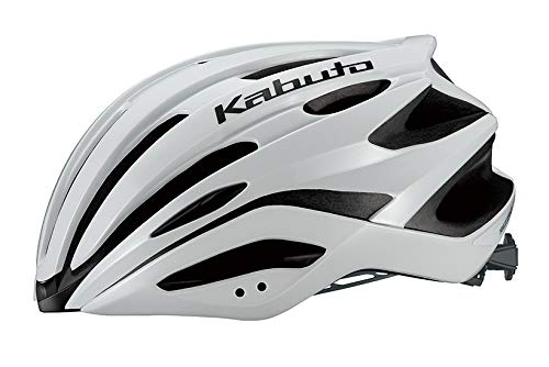 オージーケーカブト(OGK KABUTO) 自転車 ヘルメット REZZA-2(レッツァ-2) パールホワイト サイズ:M/L(頭囲:57-60cm)