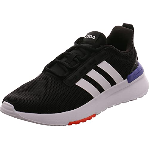 adidas Racer TR21 K, Zapatillas de Running Unisex Adulto, NEGBÁS/FTWBLA/TINSON, 39 1/3 EU
