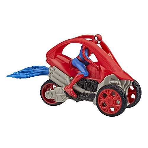 Spiderman Figura Spiderman Vehículo 15Cm (Hasbro E77395X0)
