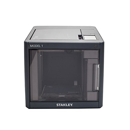 STANLEY Model 1 3D Printer, Heated Printer Bed, Carbon Filter, Assisted Bed Leveling, WiFi Connected...