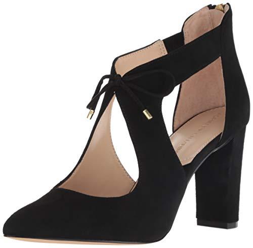 ADRIENNE VITTADINI Footwear Women's Nigel Pump, Black, 7 M US