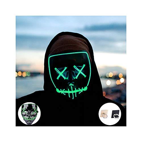 Light up Mask Led Mask Halloween Mask Led...