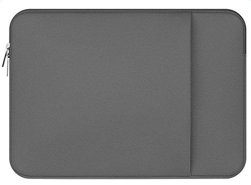 Demarkt Simple Design Laptop Bag Computer Bag Case Macbook Air/Macbook Pro grey grey 12Zoll