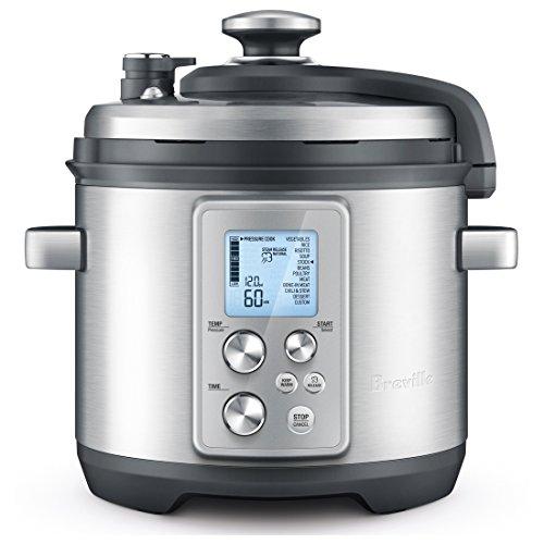 Breville RM-BPR700BSS Electric Pressure Cooker, 6 Quart, Silver