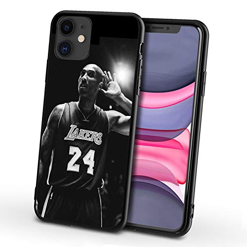 Funda Kobe para iPhone XS MAX, Fundas Suaves De TPU a La Moda para Hombres, Mujeres, Fanáticos del Baloncesto, Funda Antirrayas a Prueba De Golpes para iPhone X/XS, E- XS MAX