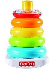 Fisher-Price FHC92 Kleurring piramide kleurrijke stapeltoren motoriek en educatief speelgoed voor het sorteren en stapelen