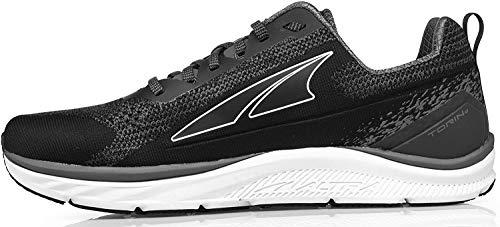 ALTRA Men's Torin 4 Plush Road Running Shoe, Black/Gray - 9.5 M US