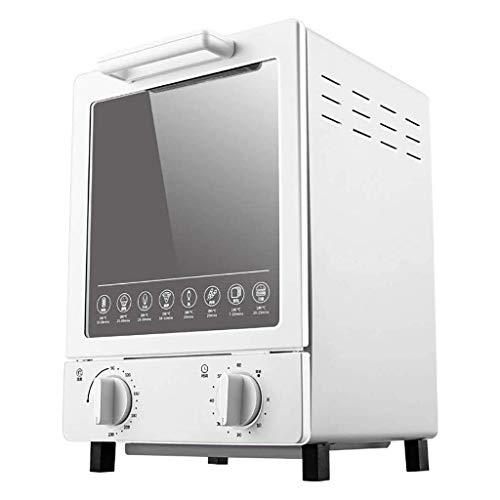 LUNAH Household Vertical Multifunctional Mini Oven Electric Desktop Oven Temperature Adjustment Saves Space 12L Mini Ovens