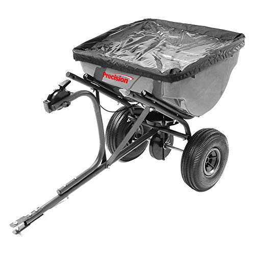 Save %6 Now! Precision Products 100-Pound Capacity Tow-Behind Semi-Commercial Broadcast Spreader TBS...
