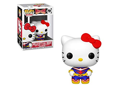 Funko Pop! Animacion: Sanrio/My Hero Academia - Hello Kitty-All Might, Multicolor (46829)