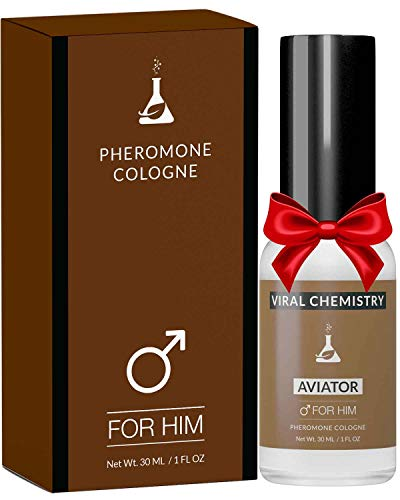 Pheromones to Attract Women for Men (Aviator) - Exclusive, Ultra Strength Organic Fragrance Body Cologne Spray - 1 Fl Oz (Human Grade Pheromones to Attract Women)