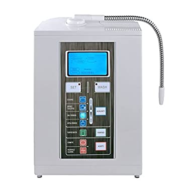 Air Water Life Aqua Ionizer Deluxe 7.0 | Water Ionizer | Alkaline Water Filtration System | Produces pH 4.5-11.0 Alkaline Water | Up to -800mV ORP | 4000 Liters Per Filter | 7 Water Settings