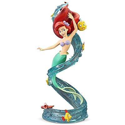 Enesco Grand Jester Studios Disney's The Little Mermaid Ariel 30th Anniversary Figurine, 8.89 Inch, Multicolor