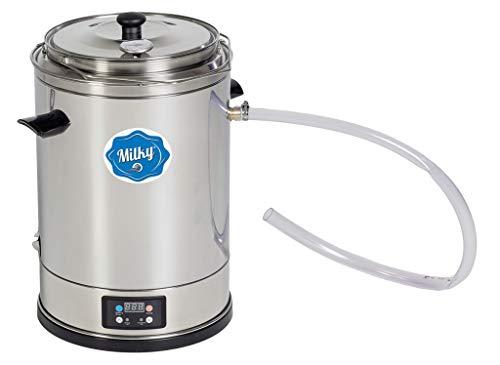 Milk Pasteurizer Machine Milky FJ 15 (115V) 3.7 Gallons