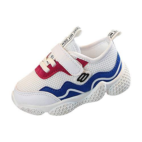 Allence Jungen Mädchen Modisch Einfarbig Sportschuhe Baby Kinder Weich Atmungsaktiv Mesh Leichtgewicht Laufschuhe Elastisch Freizeit Wanderschuhe Sneaker