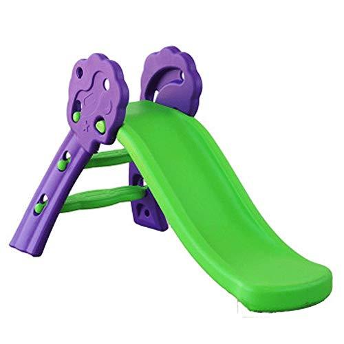 XWX Juguetes De Plástico Individual Diapositivas Niños Interior De Pequeños Deslizamientos Niños Plegable Diapositivas Diapositivas Familia (Color : A)