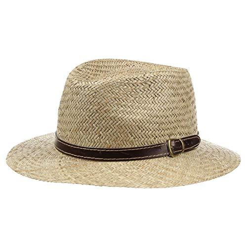 Chapeau en Paille Luke pour Homme chapeau pour homme chapeau d´ete (59 cm - nature)