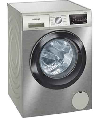 Lavadora carga superior - Siemens WM14UT6XES, 9 kg, 1400 rpm, 10 programas, Programable, A+++, Inox