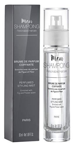 Mon Shampoing - Brume Coiffante - Spray Parfumé Cheveux - Touche Finale - Parfum Figue et Fleur - 50 ml