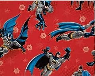 Hallmark Batman Christmas Gift Wrapping Paper Folded 20 Sq Ft