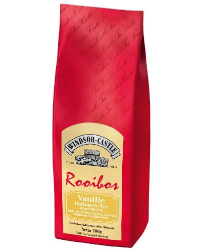 Windsor-Castle Rooibos Tee Vanille, Tüte, 200 g